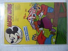 Micky Maus 1973 Jahrgang Nummer 4 mit Beilage Sticker