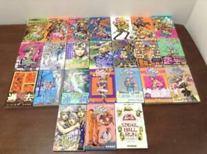 Steel Ball Run Manga Volumes 1-24 Set Hirohiko Araki Shipping by FedEx
