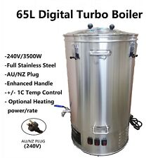 65L/240V/3500W  Digital Stainless Steel Turbo Boiler for Home brew Distillery