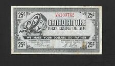 1978 Canadian Tire 25 Cents CTC G08-C-V Gas Bar Coupon