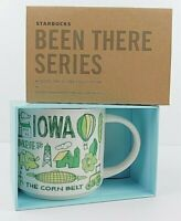 Starbucks 2018 Iowa Been There Series Coffee Mug Cup 14oz New Free Shipping
