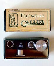 Télémètre optique GALLUS pour appareils photo (vérifié)