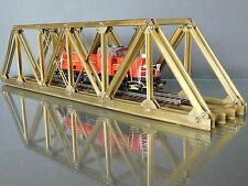 HO/OO Brass Scratch Built Truss Railway Bridge Single Track 100ft Scale Length
