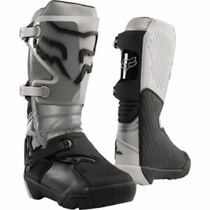 Fox Racing Comp X Boots - Grey/Black, All Sizes