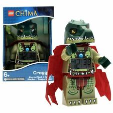 LEGO Kids' 9000577 Legends of Chima Cragger Back Light Digital LCD Alarm Clock