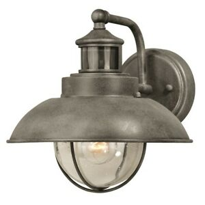 Vaxcel Harwich Dualux 10' Outdoor Wall Light, Textured Gray - T0261