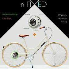 "nFIXED ""Electric Robyn"" Zehus BIKE+ No-Need-to-Charge"