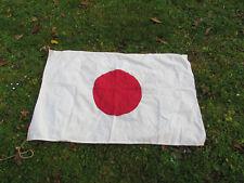 DRAPEAU JAPONAIS  ORIGINAL WW2 NIPPON 39/45.