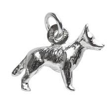 Blue Heeler Charm Sterling Silver .925 Australian Cattle Dog Animal Pet