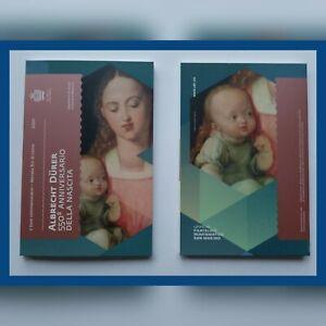 2 Euro Münze San Marino 2021 °550. Geburtstag von Albrecht Dürer° in Klappkarte