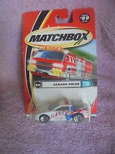 Matchbox Camaro Police 89 DARE Car Lion 2000 Chevrolet Chevy Sealed MIP New Toy