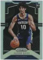 JAXSON HAYES 2019-20 PRIZM BASKETBALL ROOKIE SILVER NEW ORLEANS PELICANS NO. 254