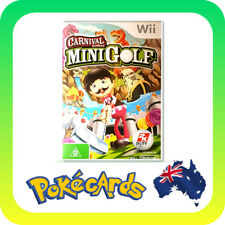 Carnival Mini Golf (Nintendo Wii, WII) - FREE POSTAGE!