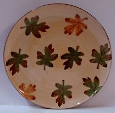 Pottery Barn HARVEST Salad Plate AUTUMN LEAF DESIGN More Items are Available