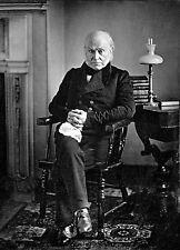 """John Quincy Adams Historic Daguerreotype by Philip Haas -17""""x22"""" Art Print-00119"""
