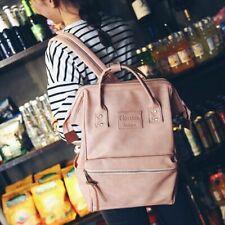 Women Backpack School Bags For Teenagers Girls PU Leather Female Laptop Bagpacks
