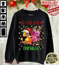 Women Sweatshirt Dragon Is This Jolly Enough