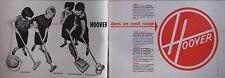 PUBLICITÉ DE PRESSE 1964 BALAI ASPIRO HOOVER DANS UN ROND ROUGE - ADVERTISING