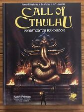Call of Cthulhu: 7th Edition Investigator Handbook by Chaosium