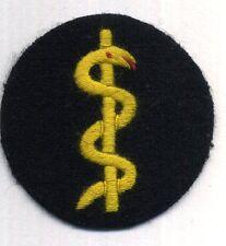 Kriegsmarine Laufbahnabzeichen Sanitätsabteilung Mannschaft auf dunkelblau