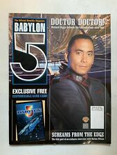Babylon 5 The Official Monthly Magazine October 1998 No 3 Doctor Harlan Ellison