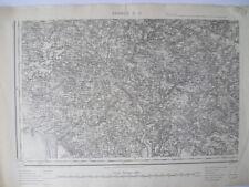 Carte d'État-Major Vannes Sud-Ouest