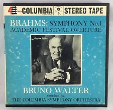 Reel To Reel Brahms Symphony No 1 Academic Festival Overture Bruno Walter Orch