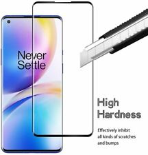 For OnePlus 8 Pro Full Screen Protector Tempered Glass Guard Shield Film Cover