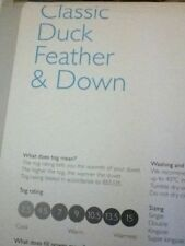 John Lewis Feather Duvets