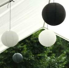 12x black white paper lantern engagement wedding birthday anniversary decoration
