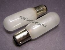 LIGHT BULB (2pc) Frosted Elna Carina Star 31 33 41 43 62 64 72 74 Supermatic TSP