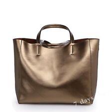Genuine Leather  Cowhide Women Fashion Satchel Handbag Tote Shoulder Bag QR