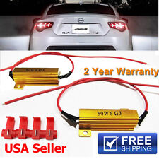 2 x 50W 6ohm Load Resistors FIX Dashboard Error Flicking LED Xenon HID SMD Cree