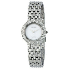 Citizen Silhouette Eco-Drive Swarovski Crystal Ladies Watch EM0260-67A