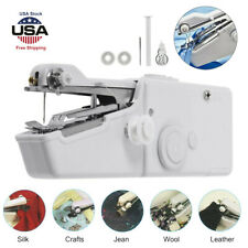 Electric Tailor Stitch Portable Smart Hand-held Sewing Machine Craft Home Travel