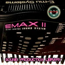 E-mu EMAX II System Large Original WAVE Multi-Layer Studio Samples/Loops Library