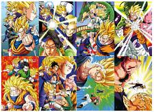 Dragon Ball Z Paper poster pack of 8 pics Goku Vegeta Trunks Gohan 16''X11''