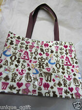 Alice in Wonderland time rabbit cheshire cat ❤ Tote bag  Us un73