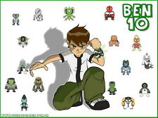 """017 Ben 10 - American Animated Series Man of Action 19""""x14"""" Poster"""