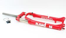 "SR Suntour Raidon RL 100mm 29 Zoll Federgabel //NEU// 1 1/8"" RSLO Lockout Rot"