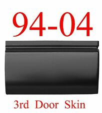 94 04 Chevy S10 3rd Door Bottom Skin Outer Door Patch, GMC Sonoma, 3 Door Only!