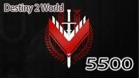 Destiny 2 Competitive 0-5500 Legend Rank PS4 PC XBOX 5500
