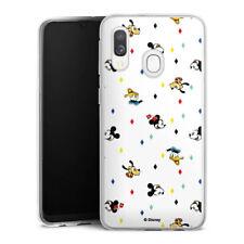 Samsung Galaxy A40 Silikon Hülle Case Handyhülle - Disney Carnival Pattern