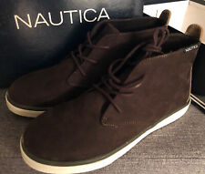 NAUTICA Boys Pierson Suede Chukka Ankle Brown Boots Youth  Size 5