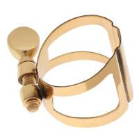 Soprano Sax Saxophone Mouthpiece Ligature Clip Cap for Wind Instrument Parts