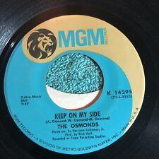 The Osmonds 45rpm Vintage Vinyl Record