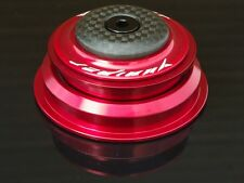 Yuniper Tapered Steuersatz  85g 1 1/8 auf 1.5 rot 55 mm  Carbon (tune it)
