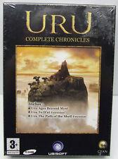 URU COMPLETE CHRONICLES PC CD JEU+ MANUEL EN FRANCAIS FACTORY SEALED RETAIL BOX