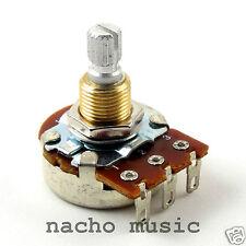 Bourns 500K Left Handed Split Shaft Low Friction Audio Taper Potentiometer Pot