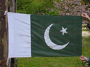 Pakistan National Flag 5' x 3, polyester